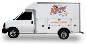 Reeves Heating & Air Truck