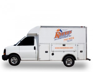 Reeves Heating and Air Truck